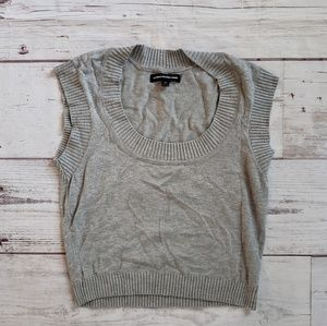 Express Sweaters - Express Gray Sweater Vest